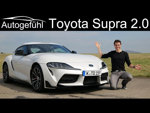 Toyota GR Supra 2.0 FULL REVIEW - less powerful but sportier?  Autogefühl