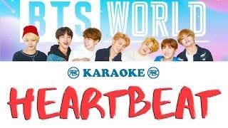 Heartbeat   BTS   Karaoke, Instrumental With Lyrics (romanized)