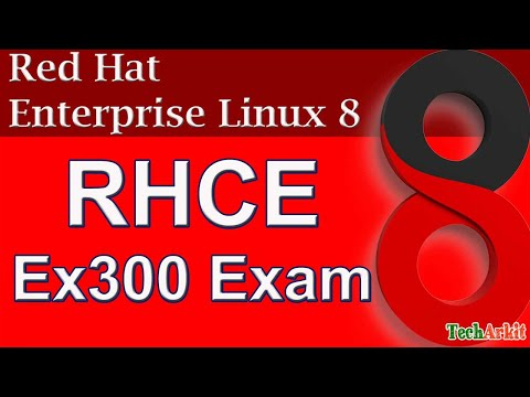 RHCE 8 Complete Course Single Video | Red Hat Certified ...