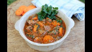 Easy Beef and Carrot Stew: Simple French one pot dish