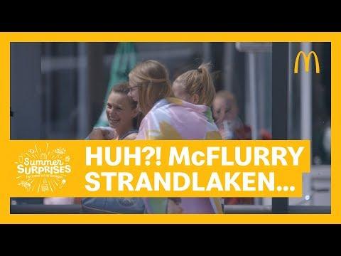 Summer Surprises McFlurry Strandlaken | McDonald's