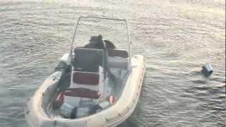 Смотреть онлайн Взрыв лодки на съемках фильма