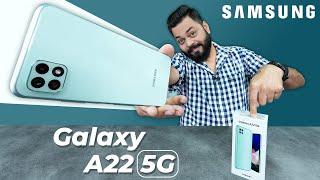 Samsung Galaxy A22 5G 개봉 및 첫인상 ⚡ 차원 700, 5G 밴드 11개, 90Hz 화면 등
