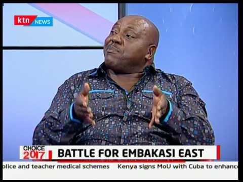 Battle for Embakasi East who will you choose to lead you? Choice 2017 pt 2