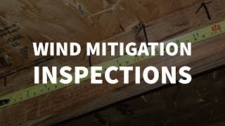 Wind Mitigation Inspections   HOME CHECK