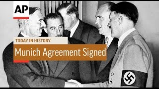 Munich Agreement Signed   1938 | Today In History | 30 Sept 16