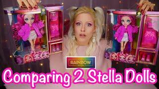 Rainbow High Series 2 Stella Monroe Differences in Dolls