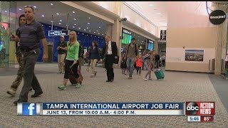 Tampa International Airport Holding Concession Job Fair To Fill 200 Positions