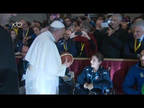 Audience du Pape aux sportifs (CONI)