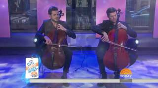2Cellos  'Game of Thrones' medley live on The Today Show,27-02-2017
