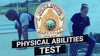 NC BLET POPAT Test – Asheville Police Department
