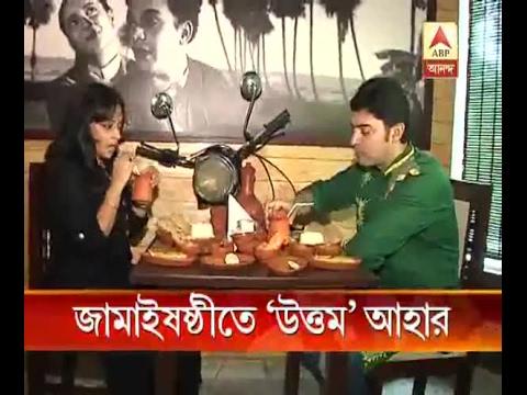 Actor Bhaswar Chatterjee tastes favorite cuisines with wife Nabamita on 'Jamai Sasthi': Wa