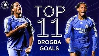 Didier Drogba's 11 Best Champions League Goals   Chelsea Tops