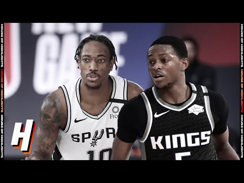 Sacramento Kings vs San Antonio Spurs – Full Game Highlights | July 31, 2020 | 2019-20 NBA Season