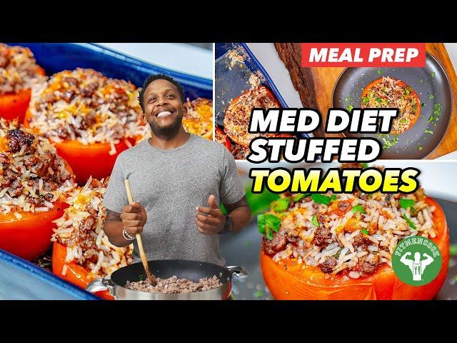 Mediterranean Diet Stuffed Tomatoes Recipe