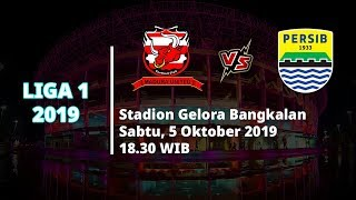 VIDEO: Live Streaming Liga 1 2019 Madura United Vs Persib Bandung Sabtu (5/10) Pukul 18.30 WIB