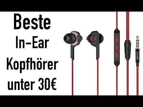 BESTE IN EAR KOPFHÖRER UNTER 30€!!