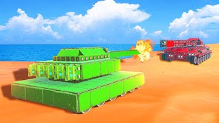 BUILD WORLDS STRONGEST TANK CHALLENGE! (Trailmakers)