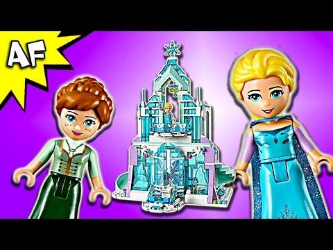 vido lego disney 41148 le palais des glaces magique delsa