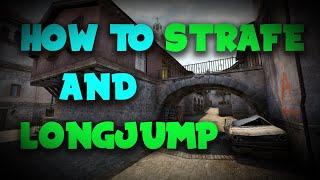 CS:GO Kreedz #1 | How to strafe and longjump [TUTORIAL]