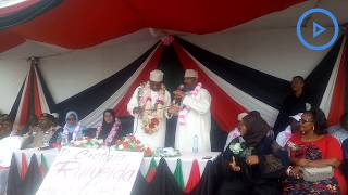 Lamu County Assembly Speaker Abdul Kassim explains how assembly