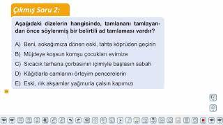 Eğitim Vadisi TYT Türkçe 14.Föy İsimler - 3 Konu Anlatım Videoları