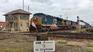Baltimore And Ohio RR Crossroads, Exploring Deshler Ohio!  CSX