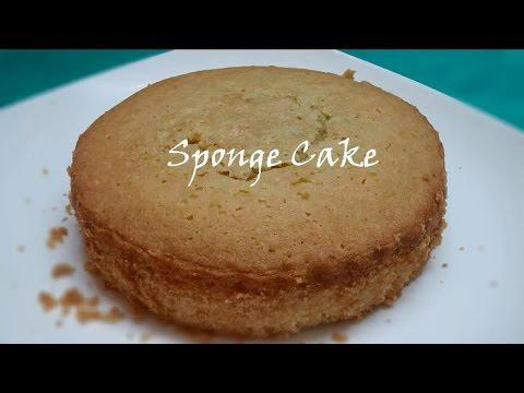 Video Sponge Cake in Microwave Oven in Easy Way (కేకు తయారుచేయుట)