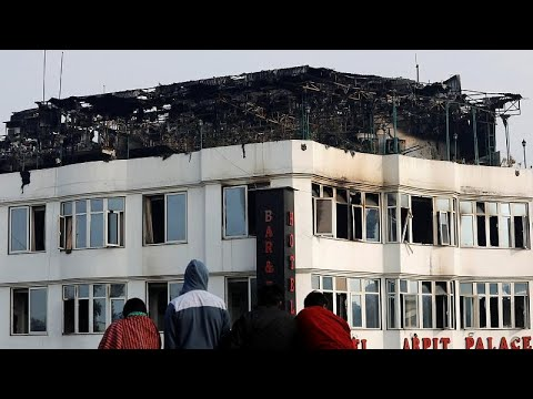Ινδία: Φονική πυρκαγιά σε ξενοδοχείο
