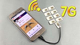 Amazing Technology // Free internet 100% , Ideas Free internet WiFi 7G at home 2021