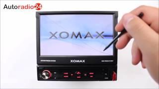 Xomax XM-VRSU727BT Autoradio carradio USB touchscreen MP3 Radio