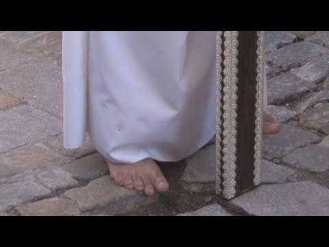 La procesión más andaluza de Ávila rinde homenaje al pequeño Gabriel Cruz