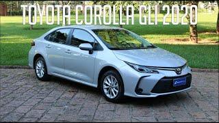 Avaliação: Toyota Corolla GLI 2020