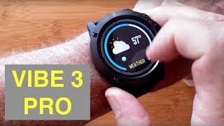 ZEBLAZE VIBE 3 PRO IP67 Waterproof Multi Sport Color Screen Smart Watch: Unboxing and 1st Look