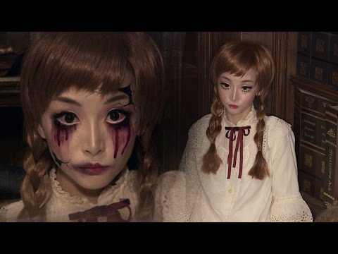 Vintage Doll + Broken Doll ✞ Halloween Makeup
