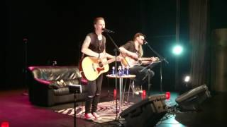 Prisoners in paradise(Europe)  An acoustic night with Erik & Magnus from Eclipse