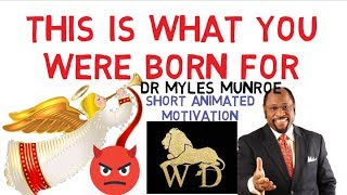 WHY SATAN HATE YOU SO MUCH - KEY TO WINNING THE DEVIL by Dr Myles Munroe (MUST WATCH)