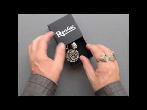 Biker Skull Jewelry - Rebelger.com