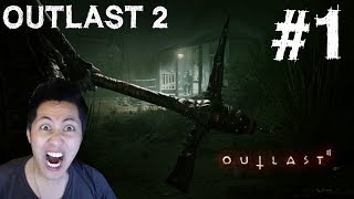 Outlast 2 Gameplay Walkthrough Part 1 FACECAM Pax East 2016 Demo Ending Let's Play Playthrough