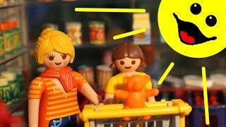 Playmobil Film Deutsch Playmobilfilme Für Kinder Folge 4 / Staffel 1 Einkaufen Im Supermarkt