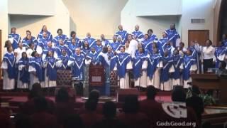"""St Stephen Temple Choir - """"While The Blood Runs Warm"""" - Gospel Music"""