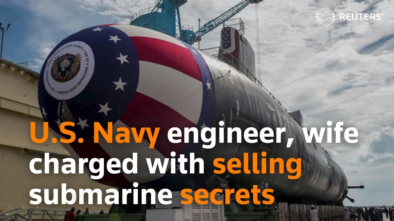 U.S. Navy engineer, other half charged with offering submarine tricks thumbnail