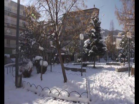 Χιόνια και ισχυρός παγετός