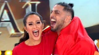 ¡Flor Vigna y Facu Mazzei son los primeros finalistas de Bailando 2019!