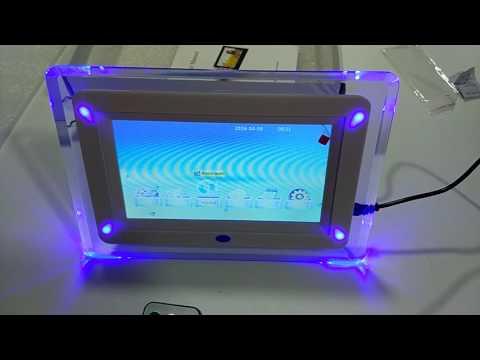 Marco digital con sensor movimiento