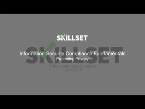 Protecting Privacy (CISSP Free by Skillset.com) - YouTube