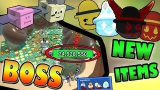 *NEW* BOSS & ITEMS!!! CRAFTING! - 🐝 Roblox Bee Swarm Simulator