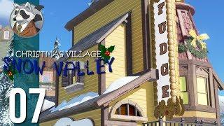 Kindershop Requires Fudge | Snow Valley Christmas Village | Planet Coaster Ep.7