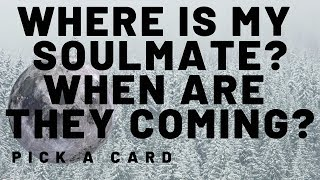 Where Is My Soulmate? When Are They Coming? Pick A Card (6)