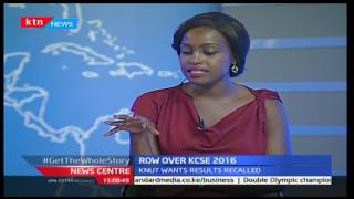 Row over KCSE 2016: Tomkim Baraza interview 7/1/2017